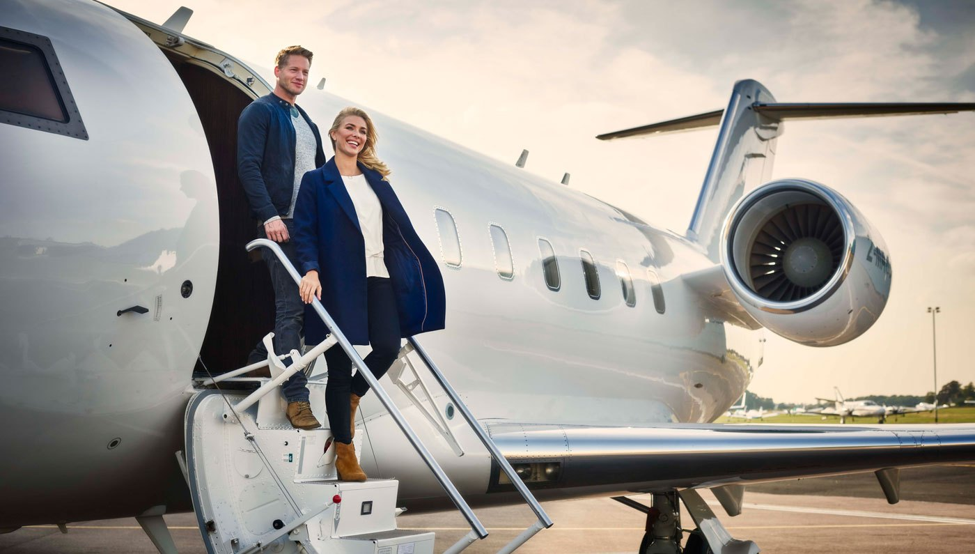 Business Honchos Flying High On Private Aircraft