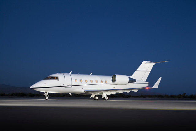 K Air Leases Challenger 604 Into The Middle East Market