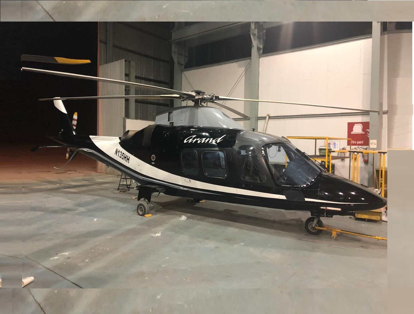 Sale of Agusta 109 Grand VT RES